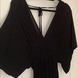 Lovestich Gauze Kimono Maxi Dress S/M